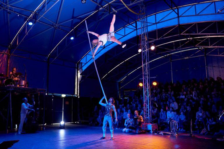 RRKC vol lof over Circusstad Festival