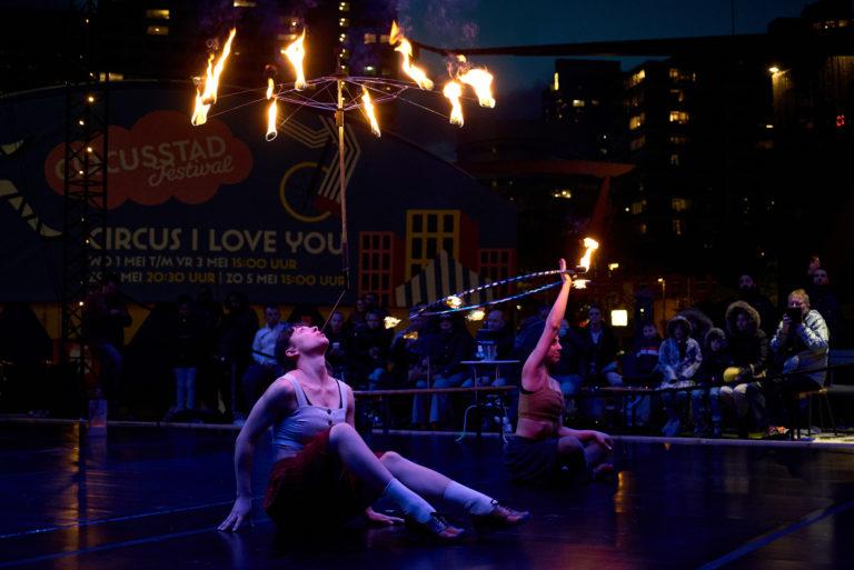 Meerjarige subsidie van FPK voor Circusstad Festival